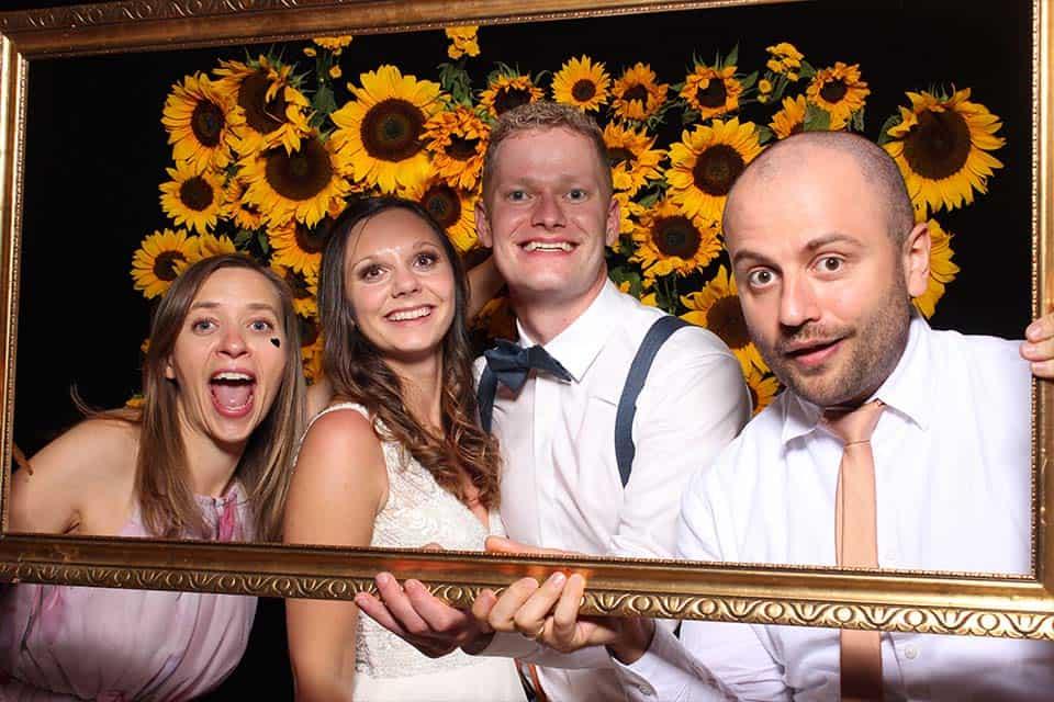Die Fotobox auf einer Hochzeit in Tübingen